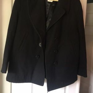 Women's US Navy Issued Peacoat size 18 short wool